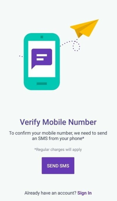 Verify Mobile